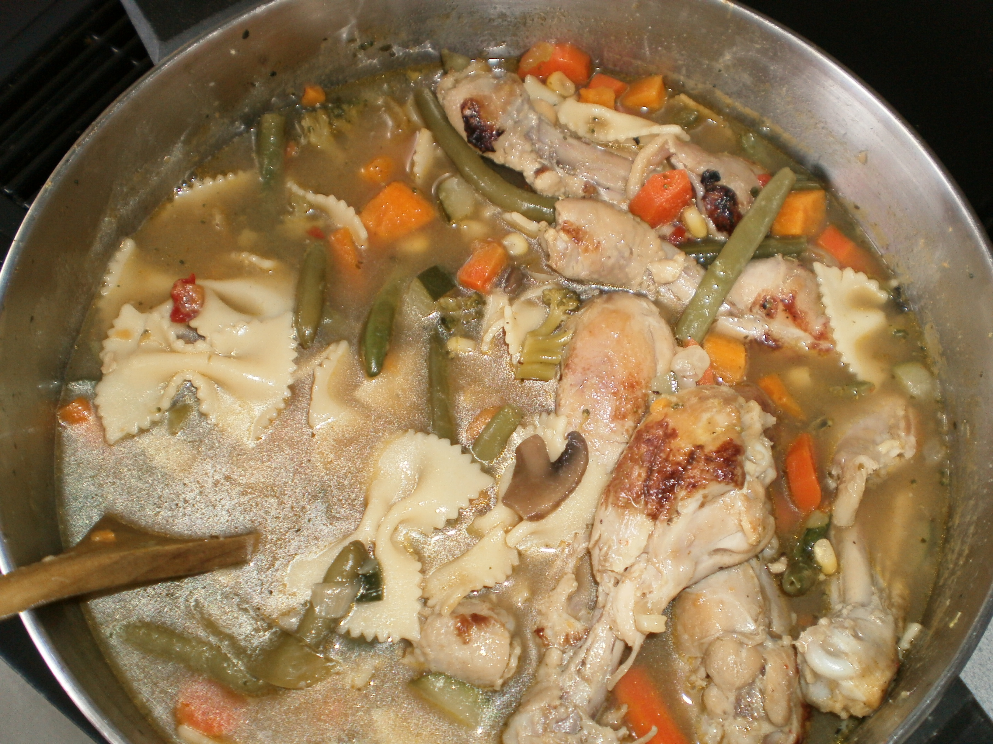 Copieuse Soupe au Poulet