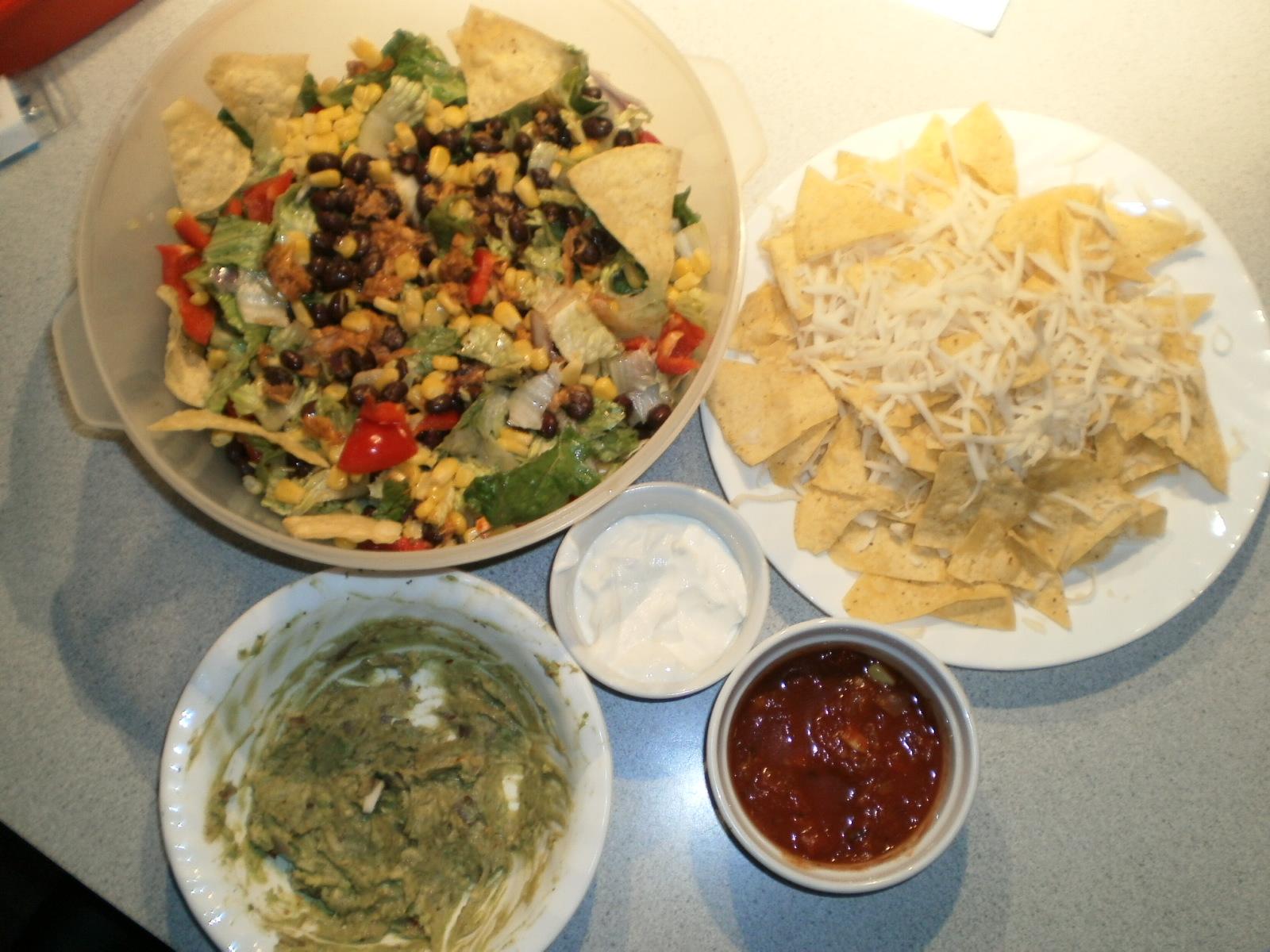 Salade de thon Tex Mex