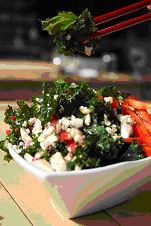 Salade Kale pour Noel