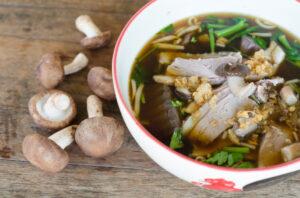 soupe style orientale