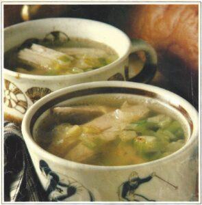 Soupe au poulet de grand-mère